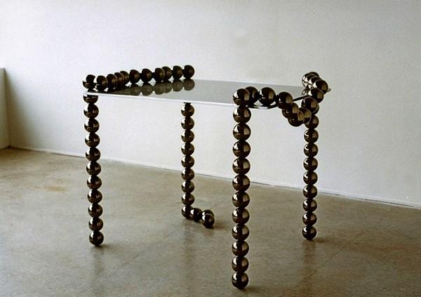 И мебель, и украшение. Журнальный столик Necklace Table  от Mattia Bonetti