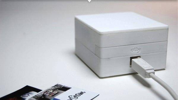 Ароматерапия интернет-сообщений с гаджетом Olly от студии Mint Digital