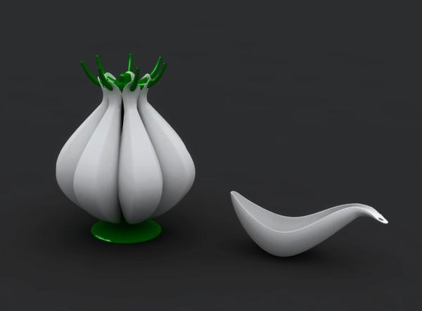 Чеснок. Совочки для сыпучих продуктов из серии Garlic & Onion