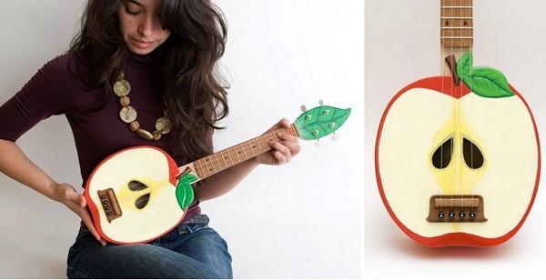 Забавный дизайн музыкальных инструментов от Celentano Woodworks