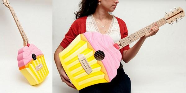 Забавные гитары от Celentano Woodworks