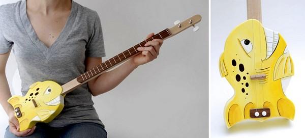 Дизайнерские гитары от Поля Челентано