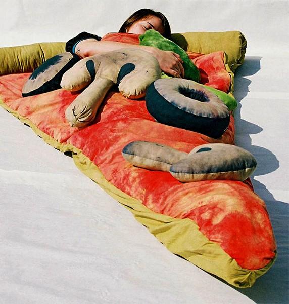 Овощная начинка для пиццы - это дизайнерские подушки