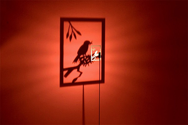Функциональная и декоративная лампа-ночник Shining Image для любителей *театра теней*