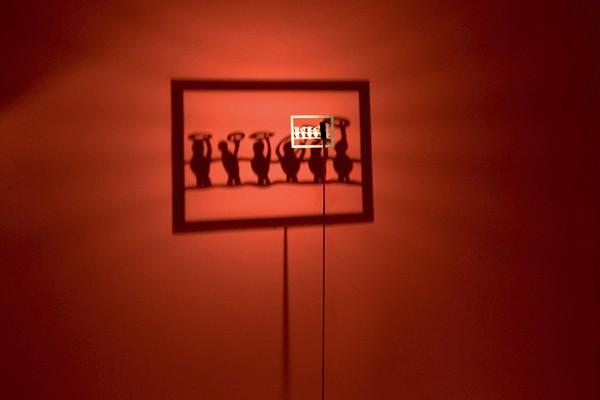 Лампа-ночник Shining Image для любителей *театра теней*