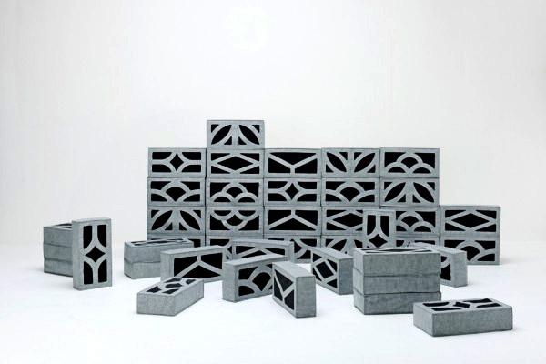 Soft Blocks, инновационная мебель из мягких кирпичей