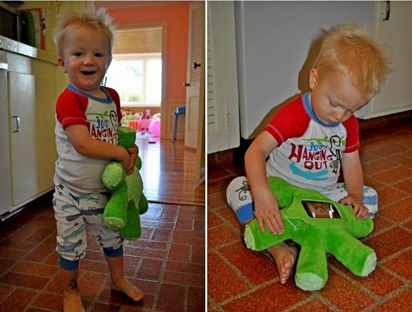 Griffin Woogie: защитный плюшевый чехол-игрушка для iPhone и iPod