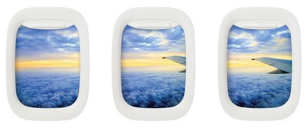 Виды из иллюминаторов в картинах Airframe