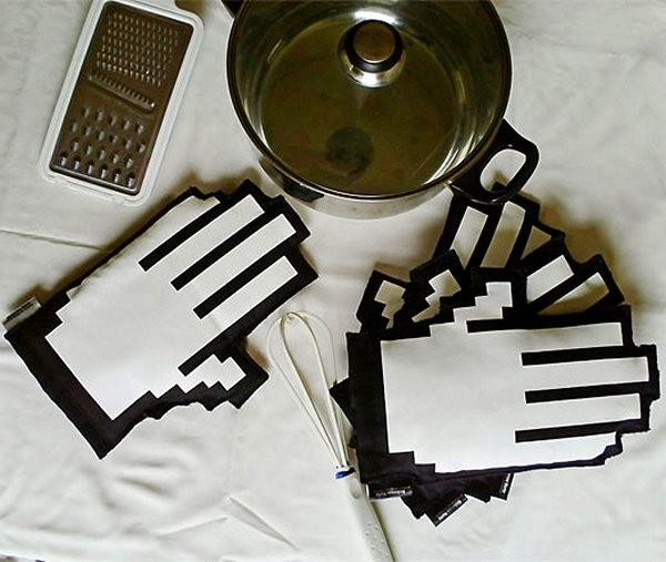 Кухонные прихватки 8-Bit Oven Mitt