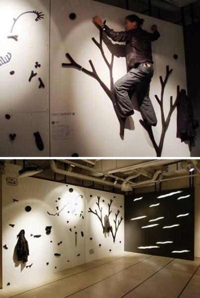 On Wall, проект домашнего японского скалодрома