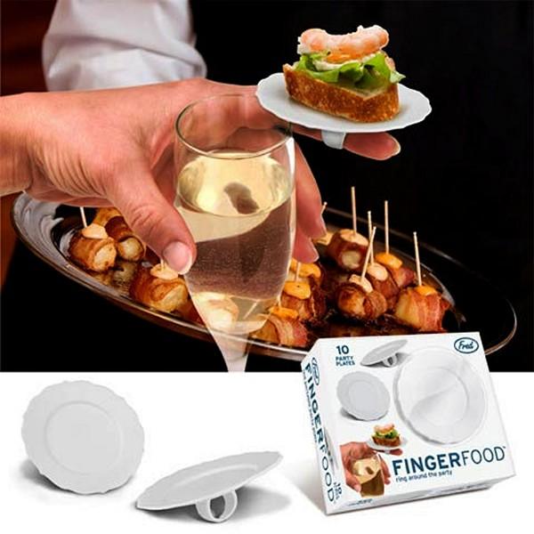 FingerFood, тарелка в виде перстня