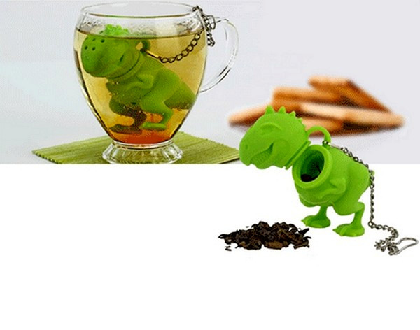Заварник для чая в виде динозавра