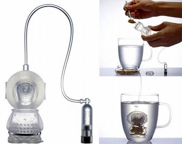 Заварник-водолаз Tea Diver