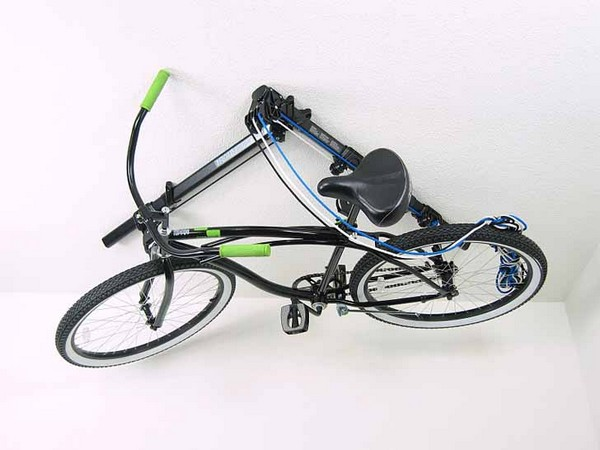 Floaterhoist – храним велосипеды на потолке
