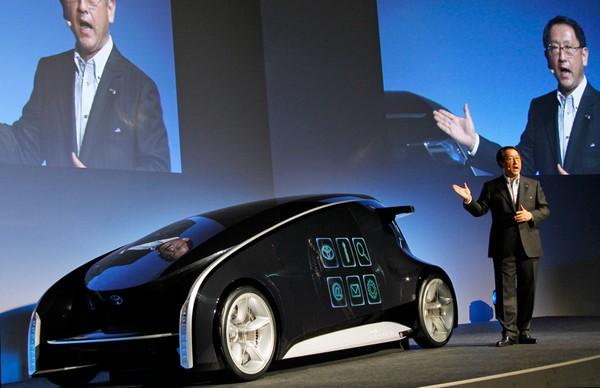 Toyota Fun-Vii – смартфон на колесах