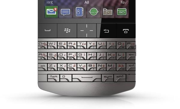 Мобильный телефон от Porsche и BlackBerry