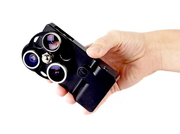 Lens Dial Case, чехол со встроенными объективами для съемки на iPhone