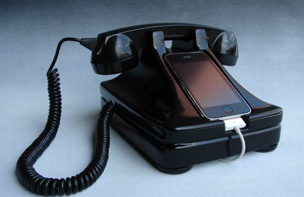 Телефонный аппарат для iPhone