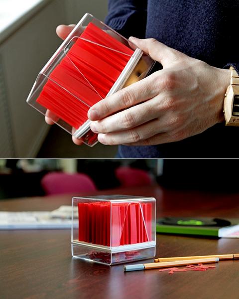 Дизайнерский набор канцелярии Кубикс (Cubics) для творческих личностей