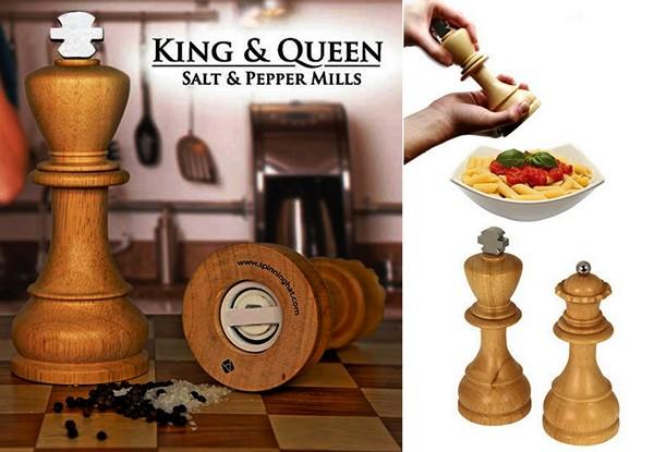 Мельница для перца и соли King&Queen