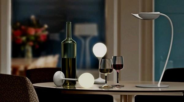 Оригинальный осветительный прибор Drop Light как украшение и полезный предмет быта