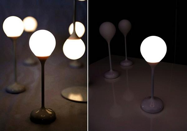 Дизайнерский светильник Drop Light, который распадается на *капли*