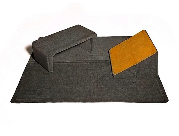 Nigiri pouf: компактный мягкий уголок от Elio Di Carlo