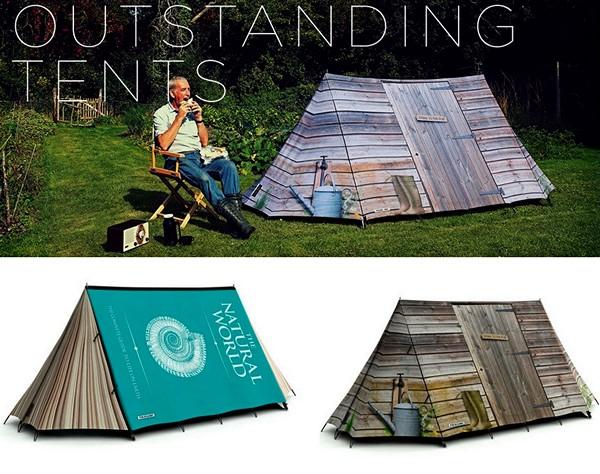 Креативные туристические палатки от FieldCandy