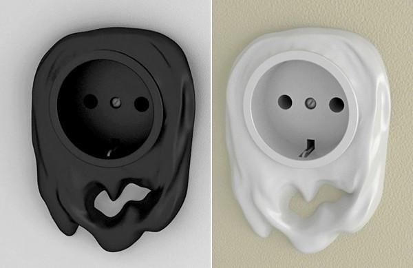 Серия нескучных розеток Funny sockets, полезный и креативный дизайн