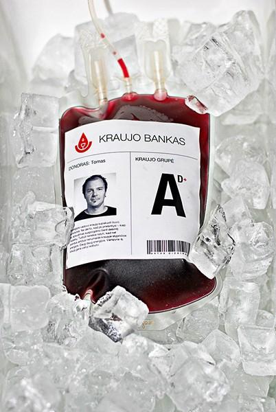 *Свежая кровь* сотрудников агентства Astos Dizainas McCann Erickson. Упаковка для молодого вина
