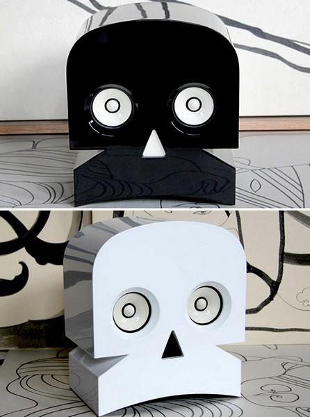 MinuSkull, стереоколонки в виде черепа от студии Kuntzel + Deygas