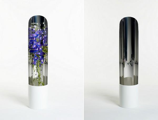 Зеркальные вазы для цветов от Джорджии Занеллато (Giorgia Zanellato)