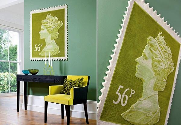 Королевские ковры из серии Postage Stamp Rug