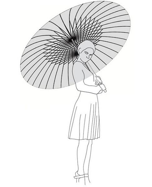 Солнцезащитный светильник-зонт Day Shade Night Light от Ян Цзэ Сяо (Yang Ze-Siao)