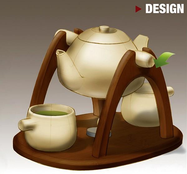 Tea for Two, романтический фарфоровый сервиз для камерного чаепития