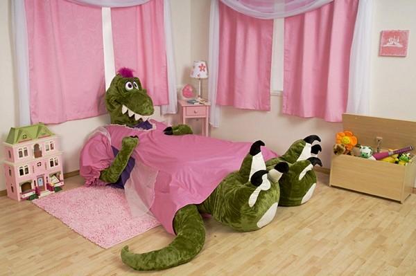 Кровати в виде животных для детской комнаты, дизайн Incredibeds Bedjammies
