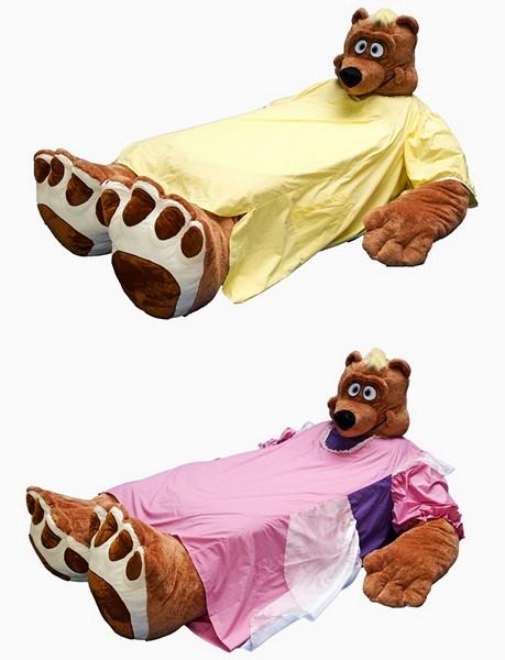 Кровати-зверушки от Incredibeds Bedjammies