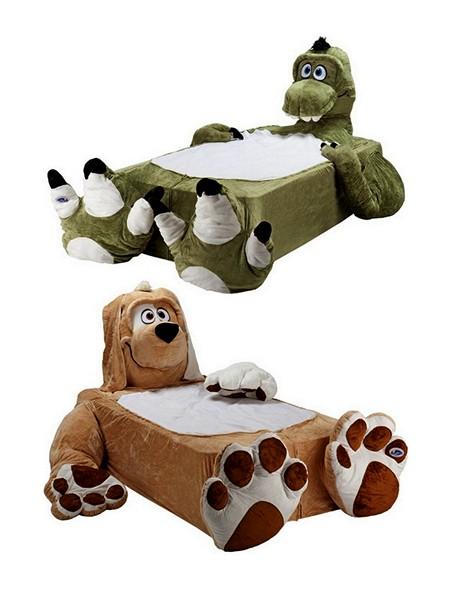 Детские кровати в виде животных от Incredibeds Bedjammies