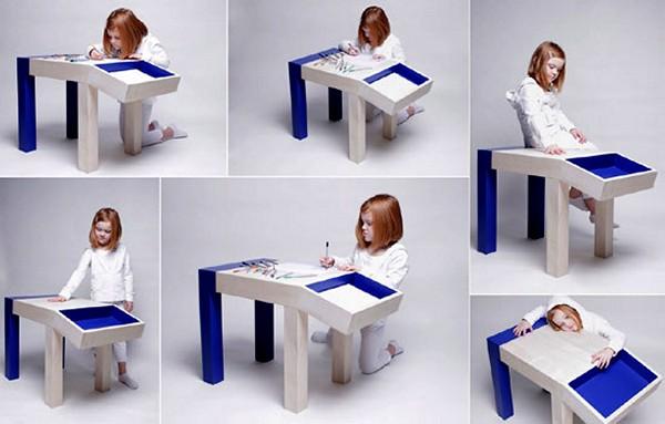 Animal Table, детский стол в виде зверушки