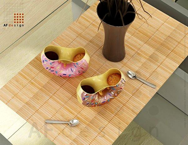Docups, кружки-пончики для утреннего кофе