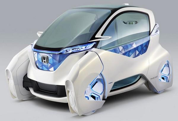 Honda Micro Commuter – практически игрушечный автомобиль, управляемый телефоном