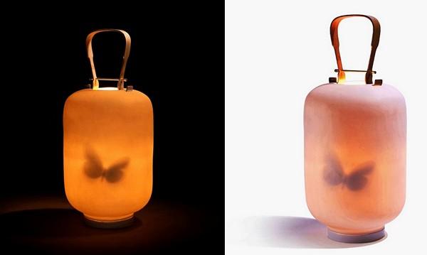 Lantern, романтический фонарь с бабочкой внутри