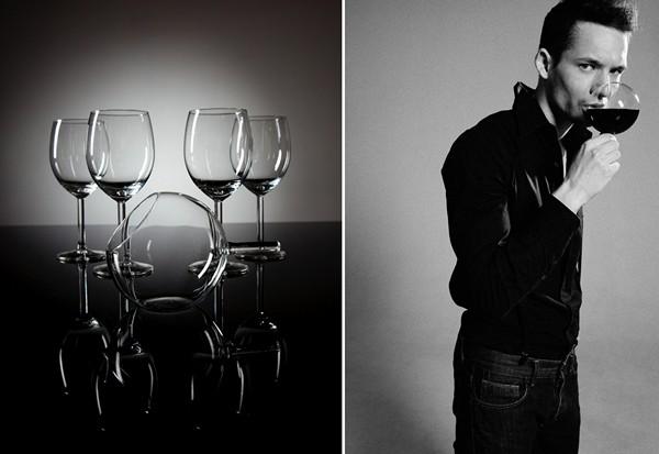 Серия необычных дизайнерских бокалов rEvolution Wine Glass для употребления вина по-новому