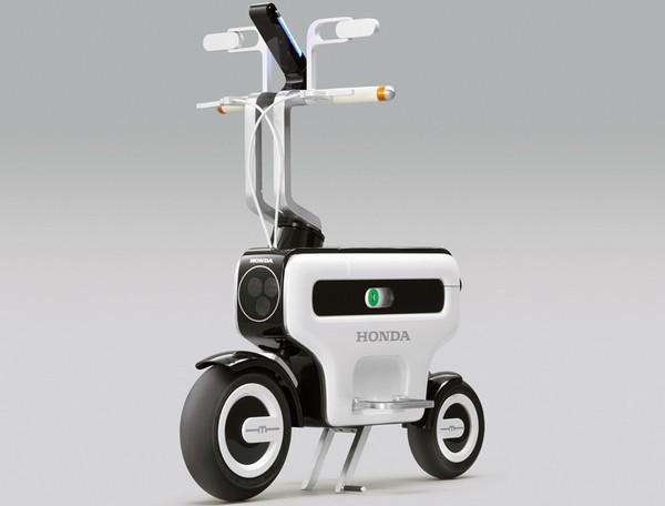 Honda Motor Compo – складывающийся электроскутер