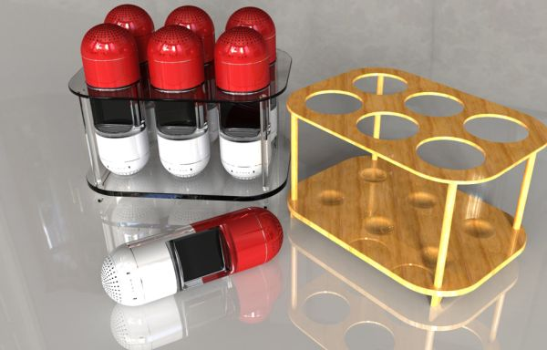 Pill Docking Speaker – волшебная таблетка для iPod Nano