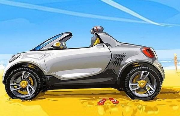 Smart For-Us – компактный электромобиль для американских дорог
