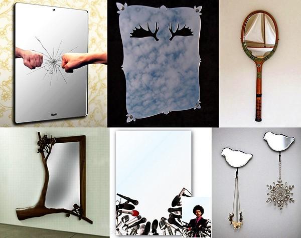 Обзор оригинальных зеркал, часть вторая