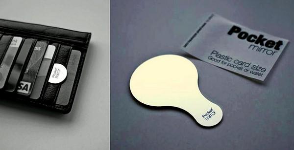 Pocket mirror, маленькое карманное зеркальце