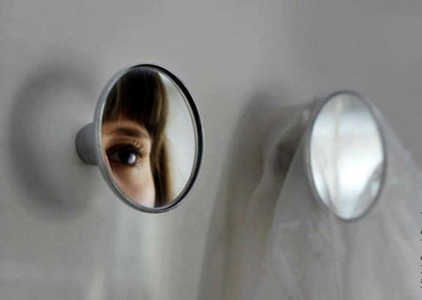 Check, зеркало-вешалка от Veronique Maire