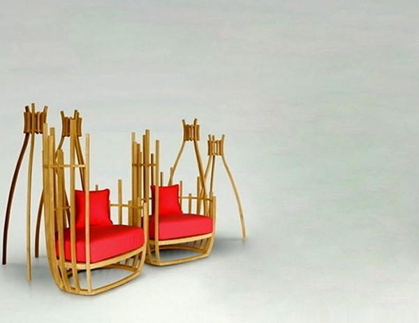 Bottle, креативная уличная мебель от Deesawat